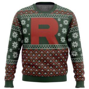 Pokemon Team Rocket Ugly Christmas Sweater