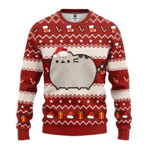 Pusheen Ugly Christmas Sweater