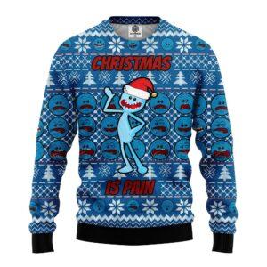 Rick And Mortyd Meseeks Ugly Christmas Sweater