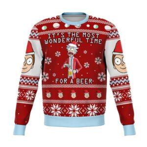 Rick & Morty Ugly Christmas Sweater