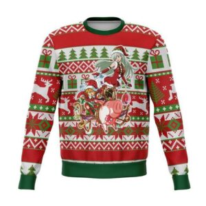 Seven Deadly Sins Ugly Christmas Sweater