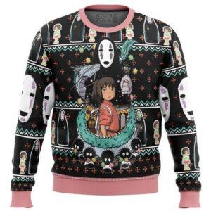 Spirited Away Avatar Ugly Christmas Sweater