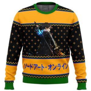 Sword Art Online Beater Ugly Christmas Sweater