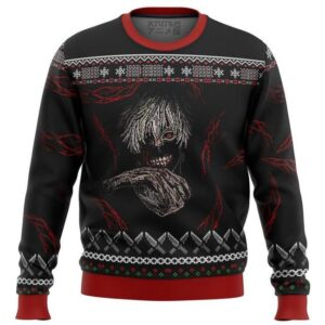 Tokyo Ghoul Dark Kaneki Ugly Christmas Sweater
