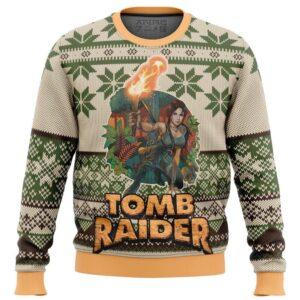 Tomb Raider Alt Ugly Christmas Sweater