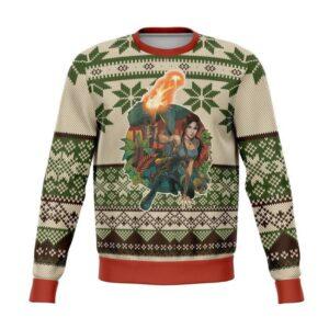 Tomb Raider Ugly Christmas Sweater