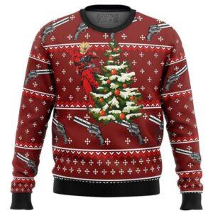 Trigun Vash Ugly Christmas Sweater