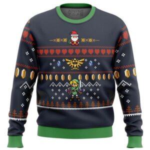 Zelda Santa Link Ugly Christmas Sweater