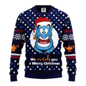 Aladdin And The Magic Lamp Ugly Christmas Sweater