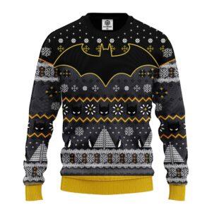 Batman Comic Ugly Christmas Sweater