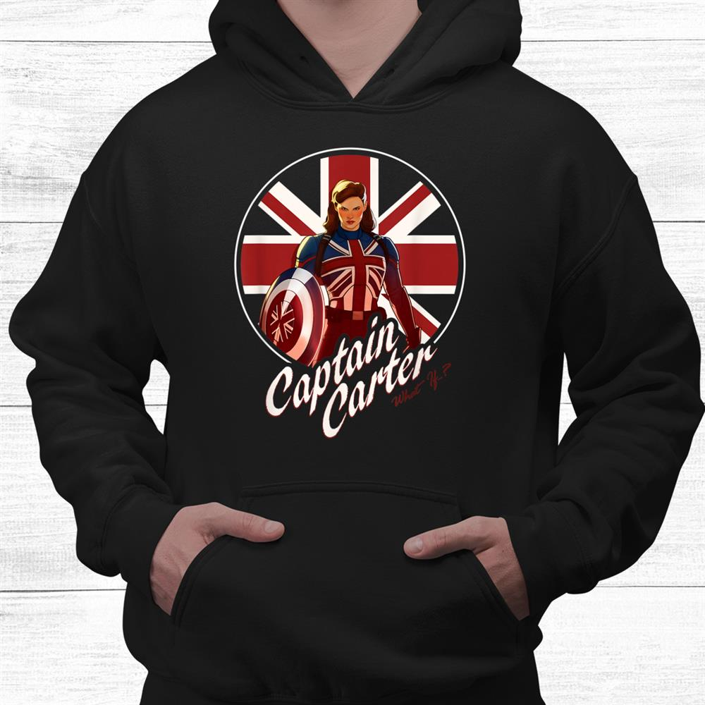 Captain Carter Super Hero Shirt