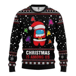 Christmas Is Mong Us Ugly Sweater