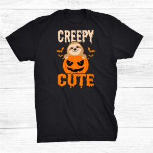 Creepy Cute Halloween Sloth Shirt