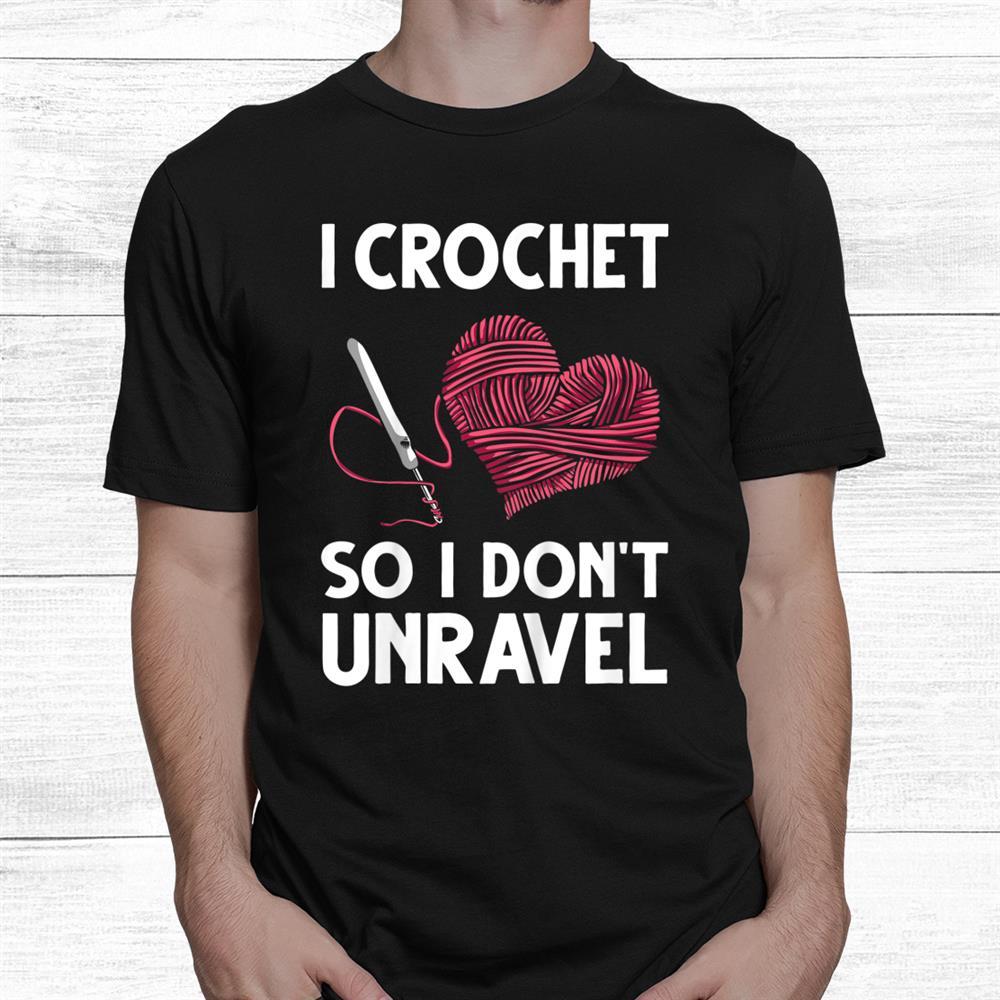 Crochet Unravel Shirt
