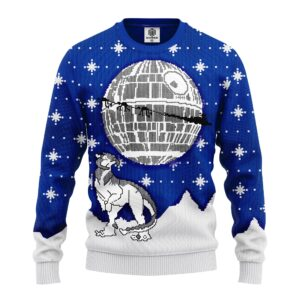 Death Star Ugly Christmas Sweater