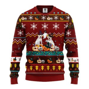 Dogd Noel Mc Ugly Christmas Brown