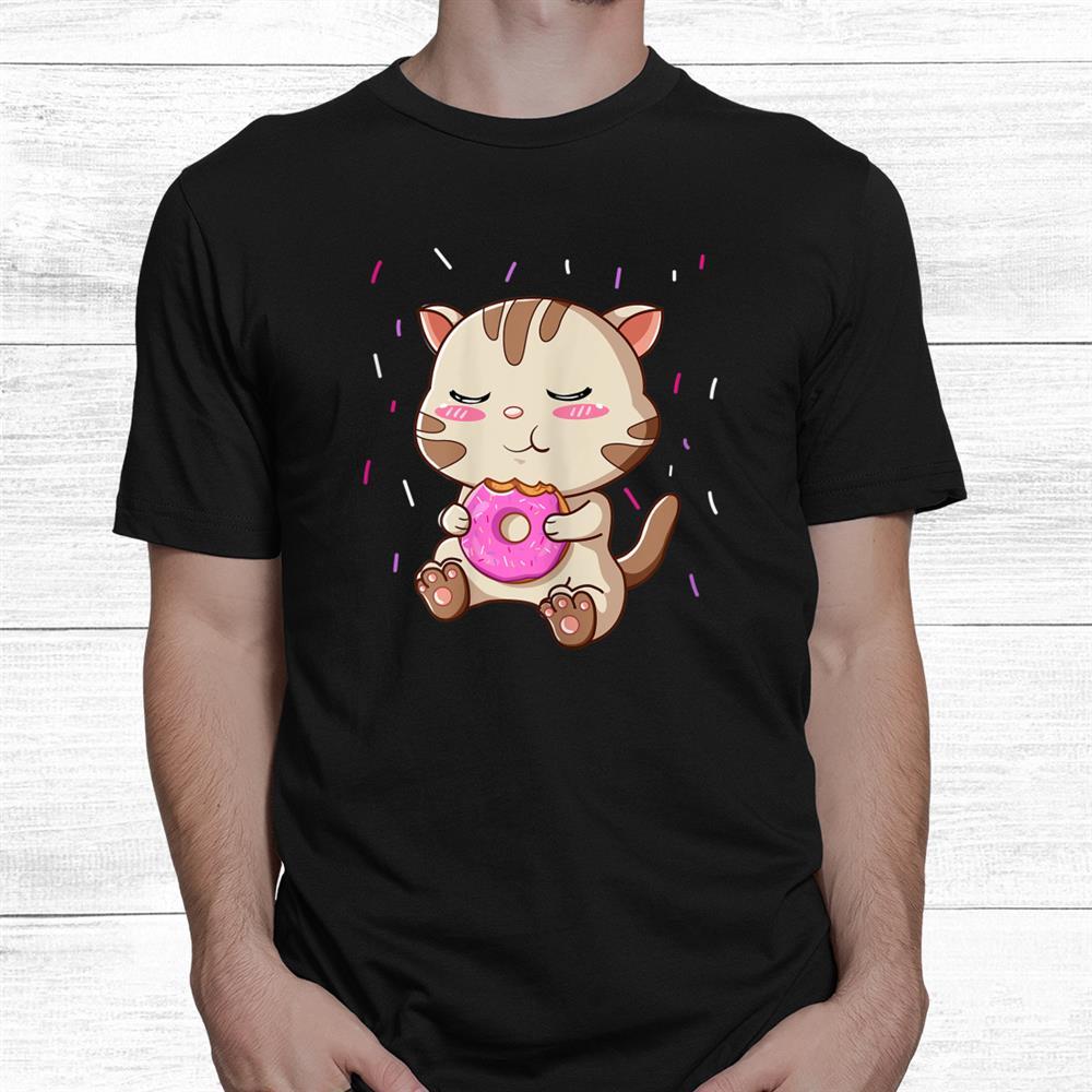 Doughnut Cat Shirt