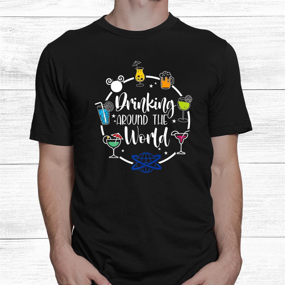 Drinki.ng Around The World Shirt