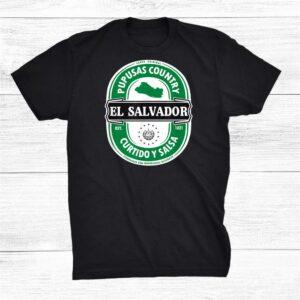 El Salvador Pupusas Country Shirt