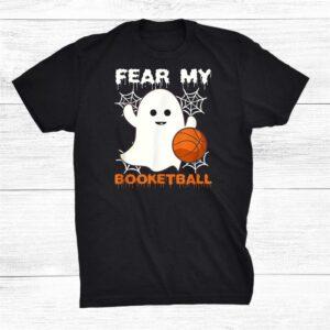 Fear My Booketball Halloween Basketball Shirt