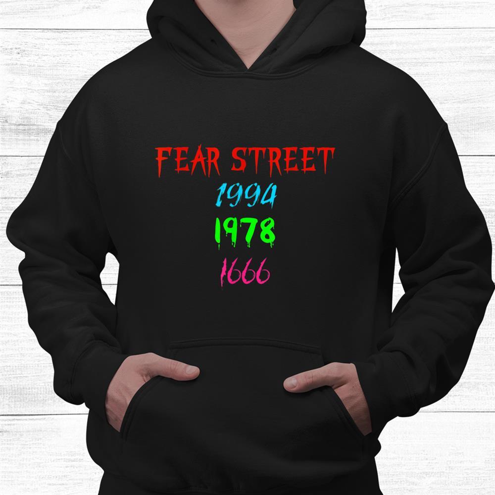Fear Street 1994 1978 1666 Shirt