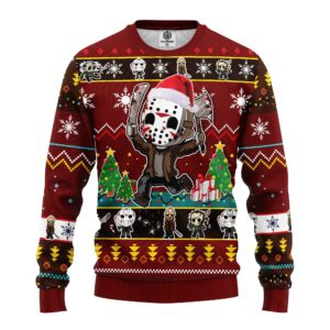 Friday The3th Funny Ugly Christmas Sweater