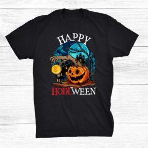 Funny Crypto Halloween Geek Btc Hodl Bitcoin Meme Nerd Shirt