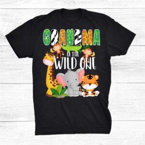 Grandma Of The Wild One Shirt