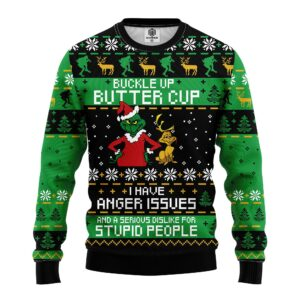 Grinch People Ugly Christmas Sweater