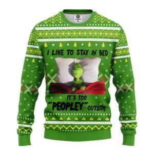 Grinch Sleep Ugly Christmas Sweater