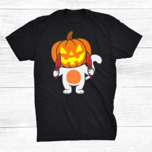 Halloween Costume Shirt Pumpkin Cat Halloween Shirt