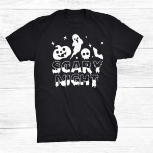 Halloween Scary Night Tee For Kids And Parents Shirt