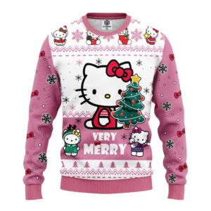 Hello Kitty Cute Ugly Christmas Sweater