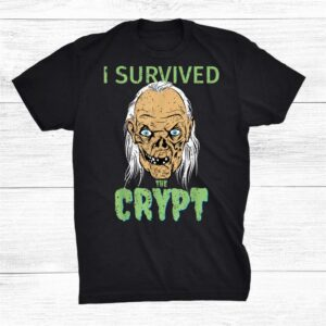 I Survived The Crypt Horror Funny Halloween Shirt