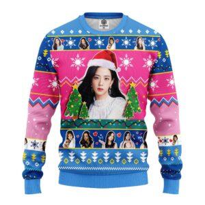Jisoo Black Pink Ugly Christmas Sweater