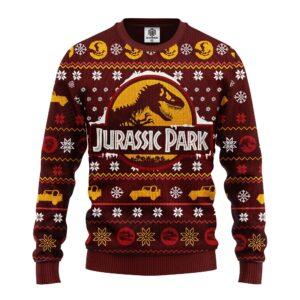 Jurracsic World Ugly Christmas Sweater