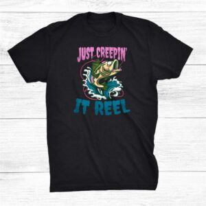 Just Creepin It Reel Halloween Fishing Shirt