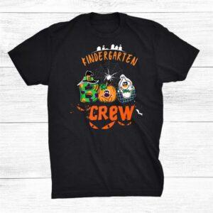 Kindergarten Boo Crew Halloween Costume Funny Shirt