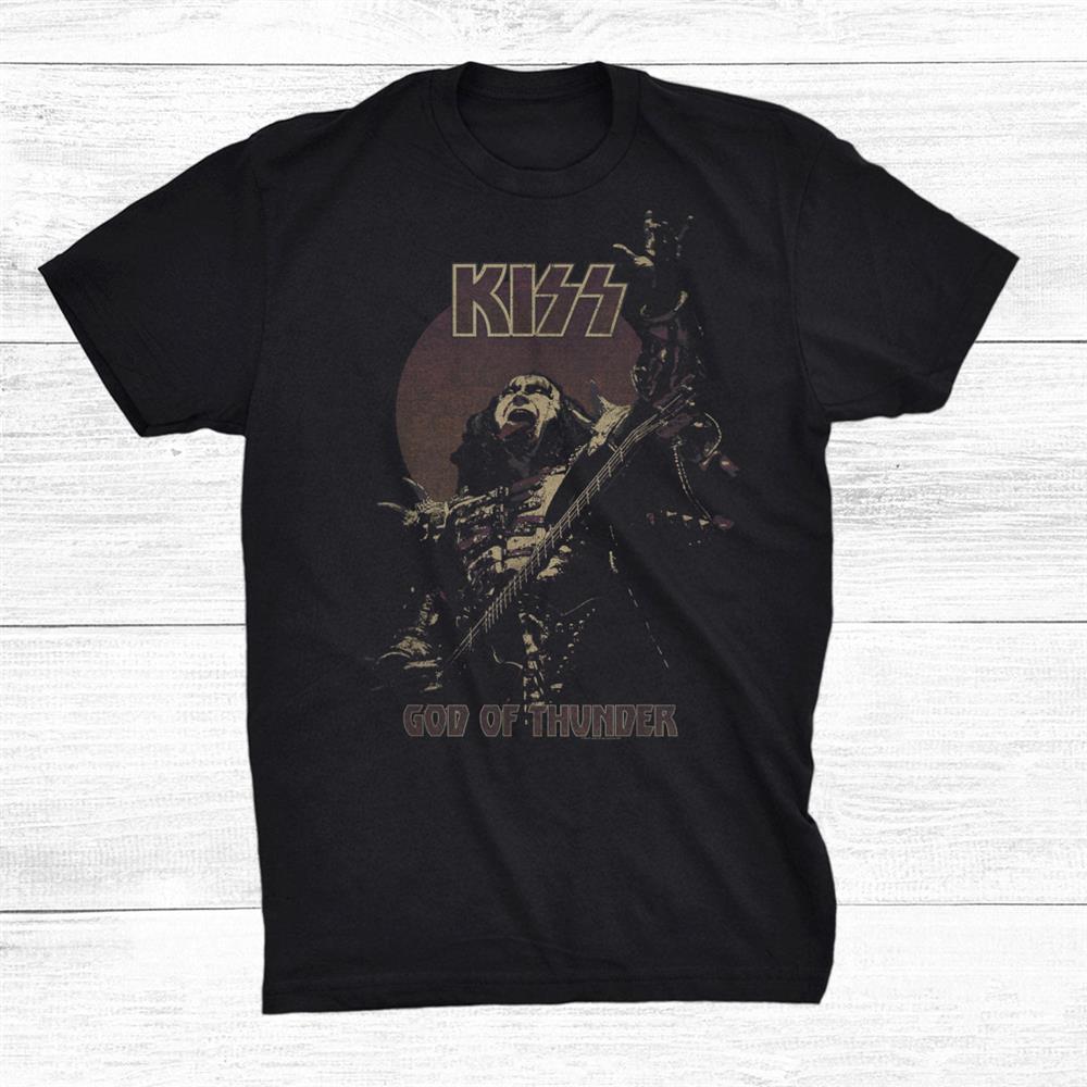 Kiss God Of Thunder Shirt