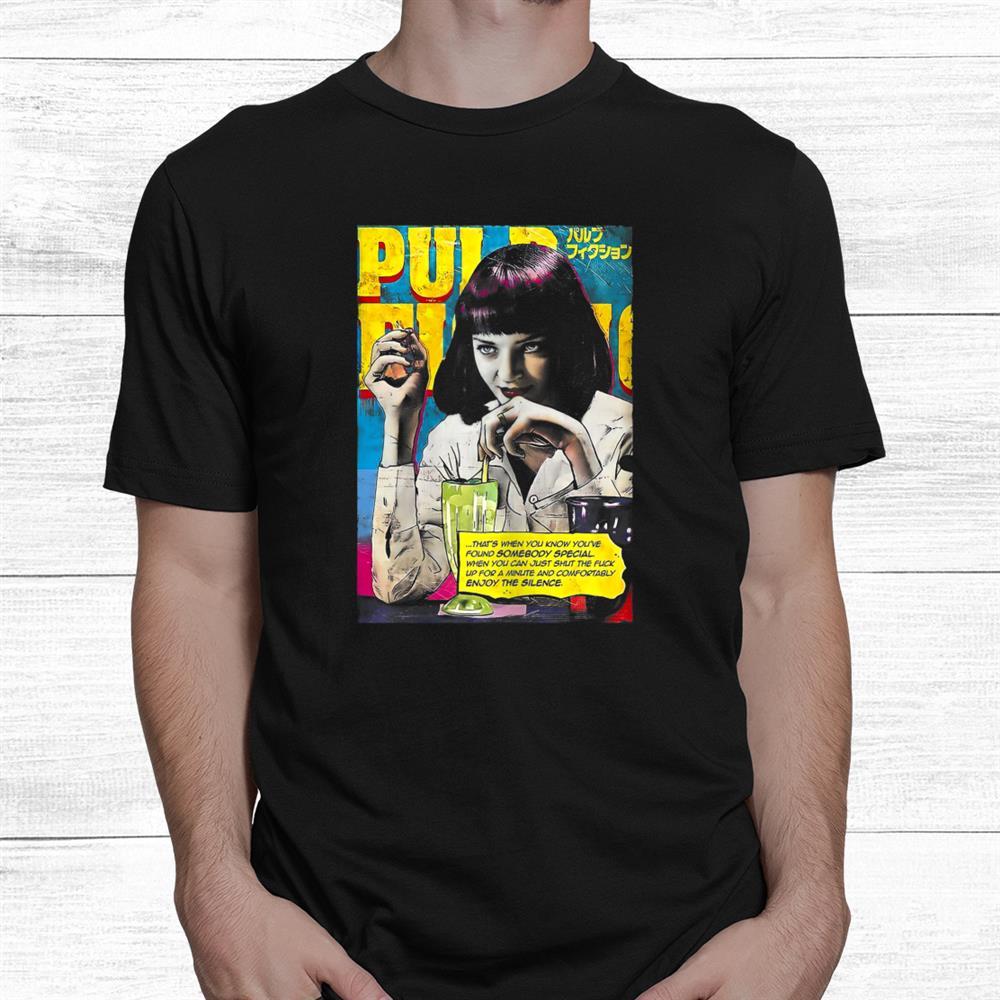 Mia Wallaces Pulp Shirt