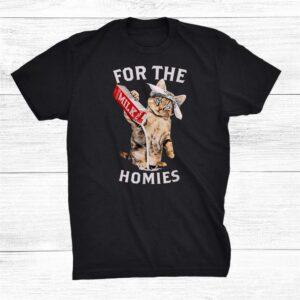 Milk Cat For The Homies Shirt