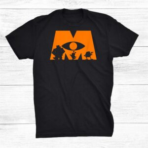 Monsters University Halloween Silhouette Shirt