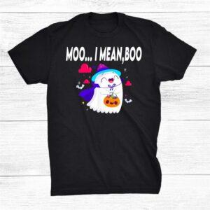 Moo I Mean Boo Shirt