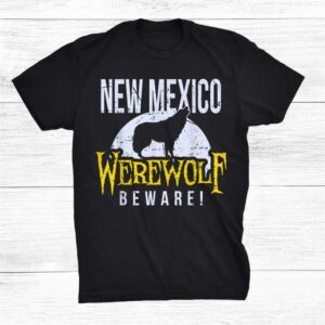 New Mexico Werewolf Halloween Costume State Pride Shirt