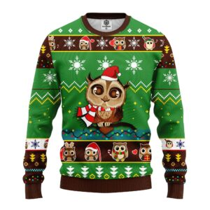Own Cute Green Ugly Christmas Sweater Green