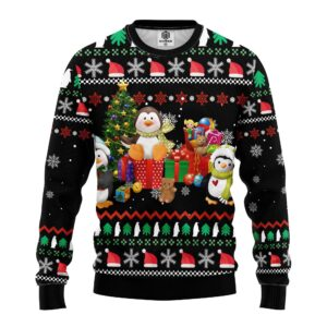Penguin Cute Ugly Christmas Sweater