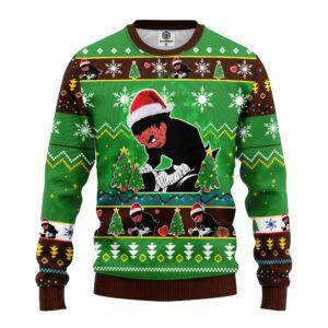 Rock Lee Funny Ugly Christmas Sweater