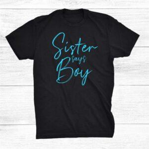 Sister Says Boy Shirt