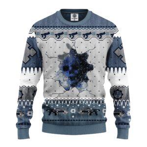 Sku White Ugly Christmas Sweater