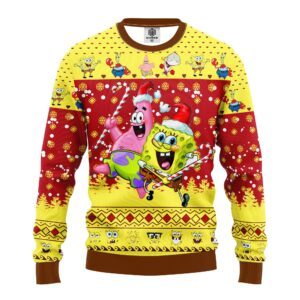 Spongebob Patrick Ugly Christmas Sweater